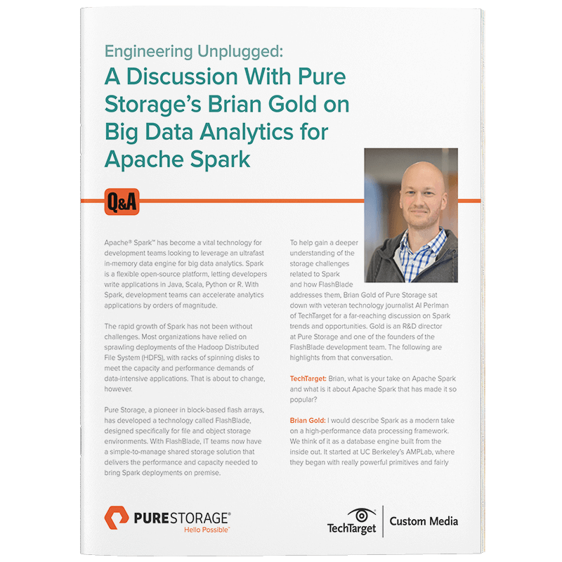 Accelerate Big Data into Big Intelligence | Pure Storage