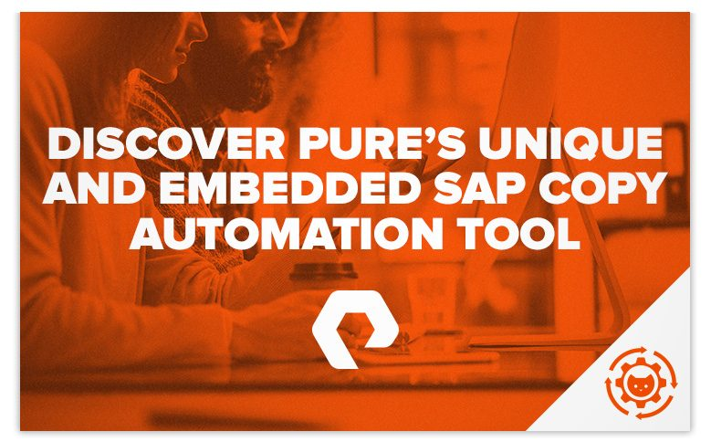 Sap System Copy Automation Tool Cat Copy Clone Refresh Pure