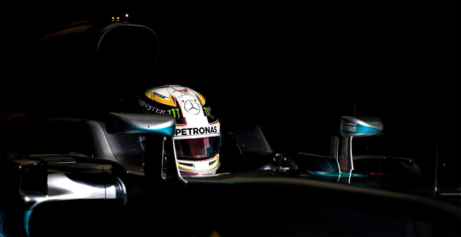 MERCEDES AMG PETRONAS Formula One Team helmet